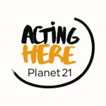 Acting Here Planet 21 Logo